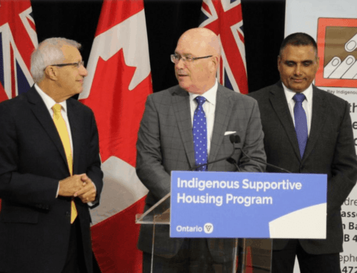 Province delivers $2.5 million for Indigenous housing in North Bay