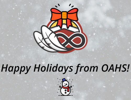 Happy Holidays from Ontario Aboriginal Housing Services!