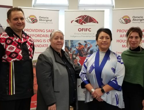 Statement on National Urban Indigenous Housing Strategy
