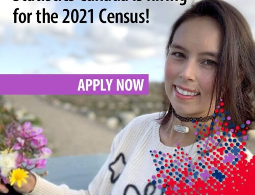 Statistics Canada are hiring Indigenous and Northern community members for the 2021 Census